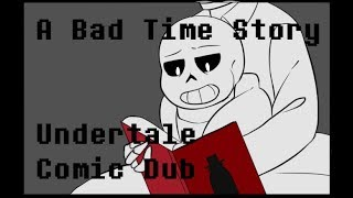 A Bad Time Story - Undertale x Babadook Comic Dub