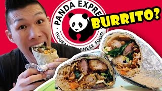 NEW PANDA EXPRESS BURRITO TASTE TEST || Life After College: Ep. 537