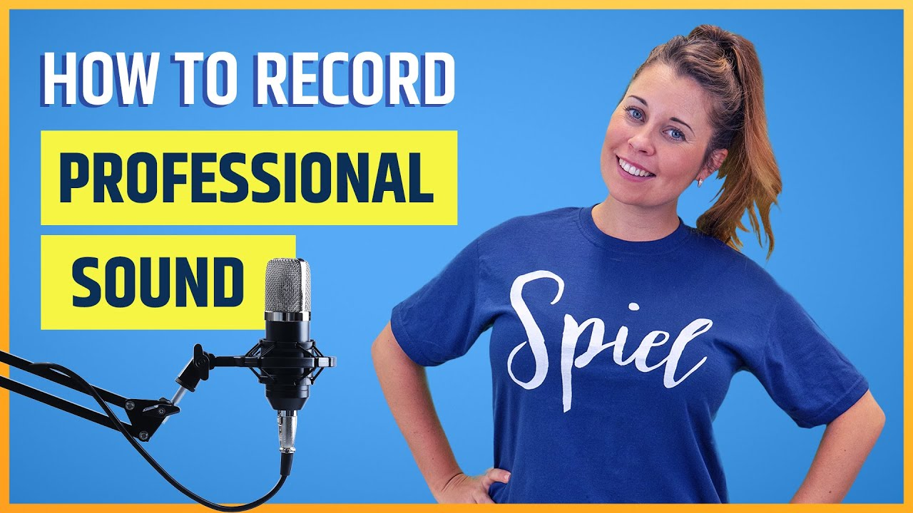 How To Record Professional Quality Sound For Your Videos (4 Killer Tips!)