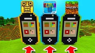 Minecraft PE : DO NOT CHOOSE THE WRONG IPHONE! (Temple Run, Tetris & Minecraft)