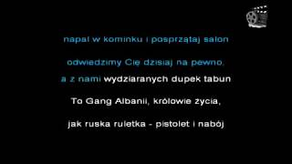 Muzyka #4 Gang Albanii - Kokainowy Baron [Podkład] [Karaoke] [Lyrics]