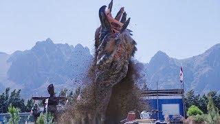 【刘油果】4分钟看完美国最新科幻电影《异形魔怪极寒之日》怪物猎杀的故事