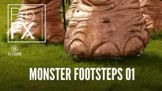 Monster footsteps sound effect | ProFX (Sound, Sound Effects, Free Sound Effects)