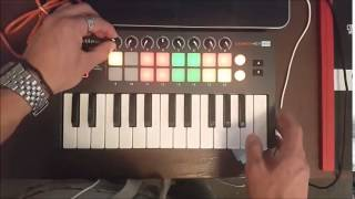 Deep/Techhouse #1 Live performance Using Novation Launchkey Mini