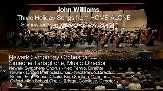 """John Williams, Three Holiday Songs from Home Alone - """"Somewhere in my Memory"""""""