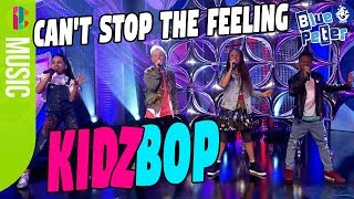 KIDZ BOP Kids perform Can't Stop The Feeling Live on Blue Peter