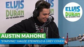 "Austin Mahone - ""Starving"" Hailee Steinfeld & Grey Cover | Elvis Duran Live"