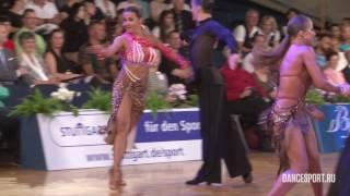 Tin Sanjkovic - Anna Ilina, CRO, 1/4 Samba
