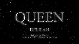 Queen - Delilah - (Official Lyric Video)