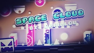 AMAZING BACKGROUNDS!! - SPACE CLOUD (MY FAVORITE LEVEL :3) - GEOMETRY DASH 2.1!