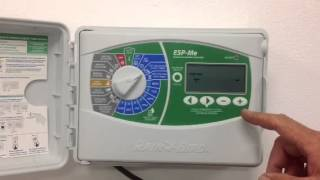 How to program your Rainbird sprinkler timer