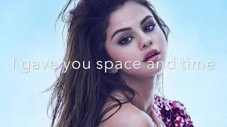 Selena Gomez - Feel Me (Lyrics) Live
