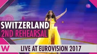 "Second rehearsal: Timebelle ""Apollo"" (Switzerland) Eurovision 2017 