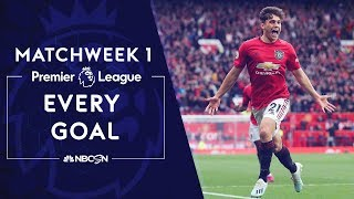 Every goal from Premier League 2019/20 Matchweek 1  | NBC Sports