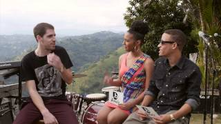 Richie Campbell on his First language and first time to Jamaica - Jussbuss Acoustic