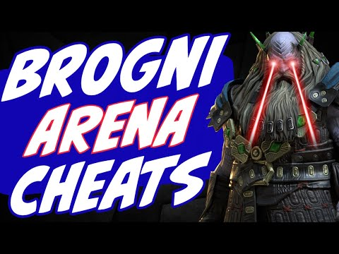 Brogni arena time w/ Taunting & Frostbite artifacts. **AMAZING** Raid Shadow Legends