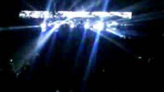Massive Attack - Karmacoma live @ Luzhniki 14.10.2009 pt.2