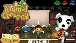 Animal Crossing New Leaf Getting KK Slider Pic in 1 Day
