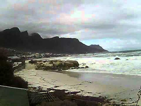 Timelapse Video – Glen Beach & Camps Bay – 31/05/2011
