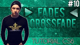 How To Add Fades & Crossfades in Adobe Audition CS6  - Tutorial #10