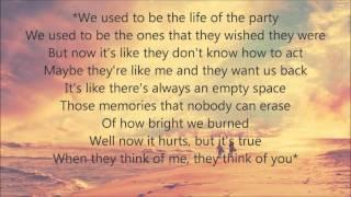 Chris Young ft. Cassadee Pope - Think Of You (Lyrics)