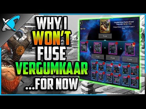 Why I WON'T Fuse VERGUMKAAR... For Now | More & Better Rewards !? | RAID: Shadow Legends