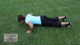 The Exercise Anywhere: Fat Burning Power Combo Workout!