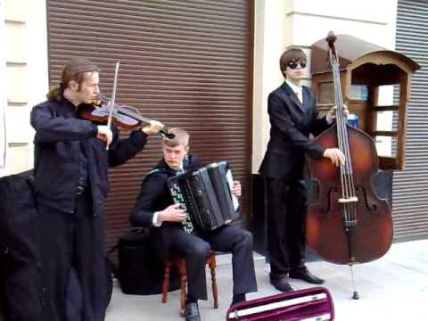 Street Musicians Lviv Ukraine June 2009