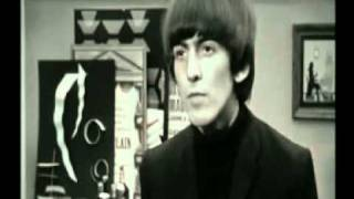 Divertida escena de la película de los beatles A Hard Day's Night