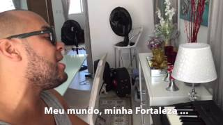 "Ton Carfi canta ""Minha Fortaleza"" de DD Júnior"