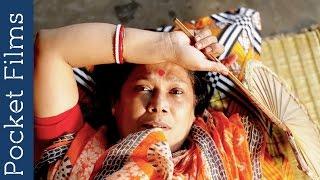 Bangla Housewife waiting for her husband  -  Bangla short film – Opekkha (The Waiting) width=
