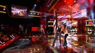 Team Blake  Life Is a Highway - The Voice