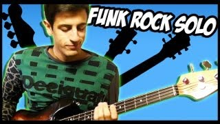 AWESOME FUNK ROCK SOLOS [Bass, Guitar, Piano]