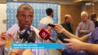 Sub-20 | Entrega del Pabellón Nacional al plantel mundialista