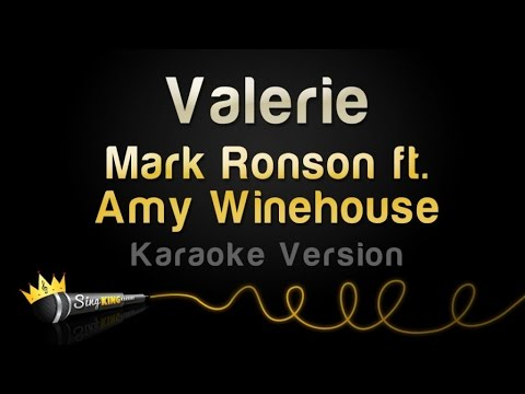 Mark Ronson Ft Amy Winehouse Valerie Karaoke Version Chords