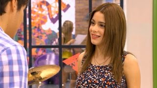 Violetta 1 - Violetta y León descubren que soñaron la misma canción (01x73-74)