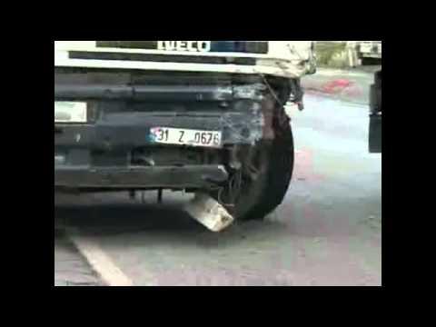 İskenderun'da korkunç kaza    iskenderunforum.com