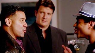 "Castle 8x09 Esposito Sings Acapella w Corbin Bleu ""Tone Death"" Season 8 Episode 9"