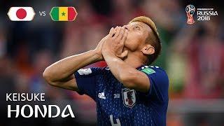 Keisuke HONDA Goal - Japan v Senegal - MATCH 32