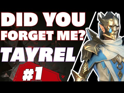 Tayrel have we forget? The #1 epic of old Raid Shadow Legends Tayrel guide..... Remember!