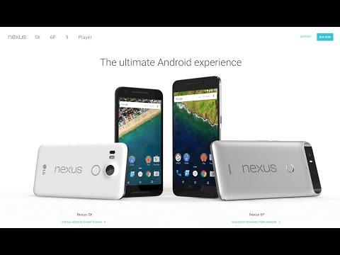 كيف تطلب اجهزة Nexus الجديدة من موقع الرسمي