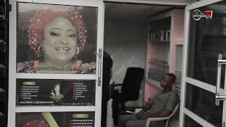 Watch How Ronke Oshodi Oke launched her cream store with popular nollywood faces