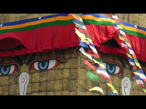 SANY0749.MP4 BoudhaNath Stupa Movie