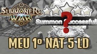 Summoners War - Meu primeiro NAT 5 LD (retirado em live)