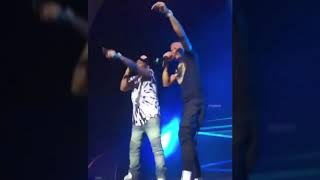 Wizkid joins Davido on stage in UK for 30billionconcert