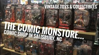 EP89- The Comic Monstore in Salisbury NC/ Comic Store Vintage Toy Hunt/ Gamestop Clearance