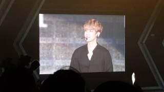 20170212 EXO Hong Kong Baekhyun talk 1
