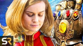 5 Captain Marvel Theories So Crazy The Might Be True