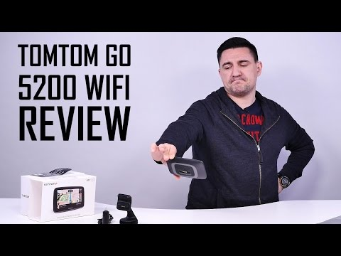 UNBOXING & REVIEW - TomTom GO 5200 cu WiFi - GPS-ul absolut, aproape