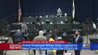 Illinois General Assembly Members Told To Get Tested For Coronavirus
